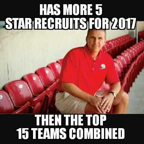 Ohh that's Urban Meyer for ya!                                                                                                                                                                                 More