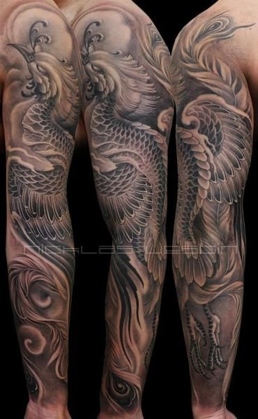Great Phoenix Sleeve