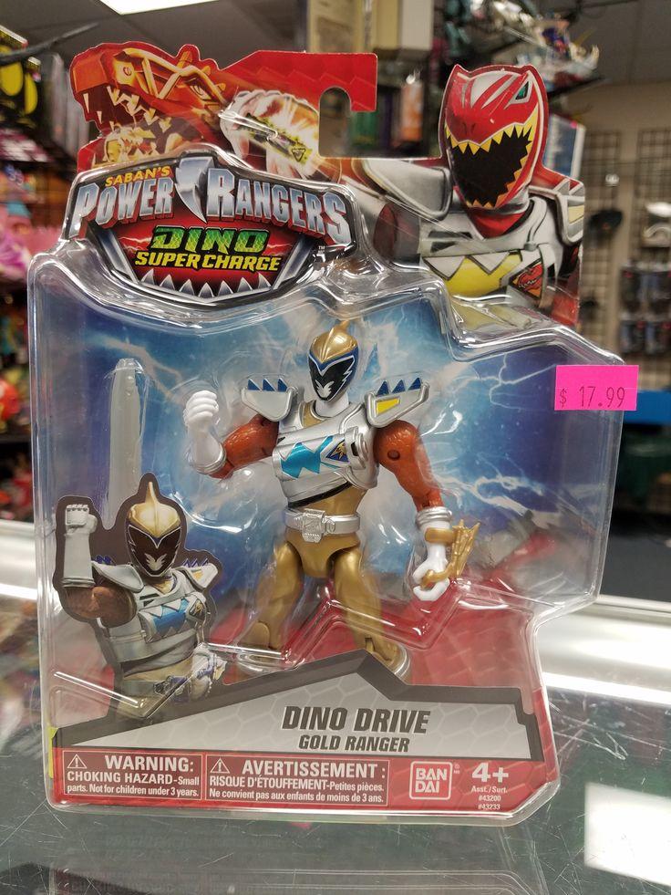 BANDAI POWER RANGERS DINO SUPERCHARGE, Dino Drive Gold Ranger