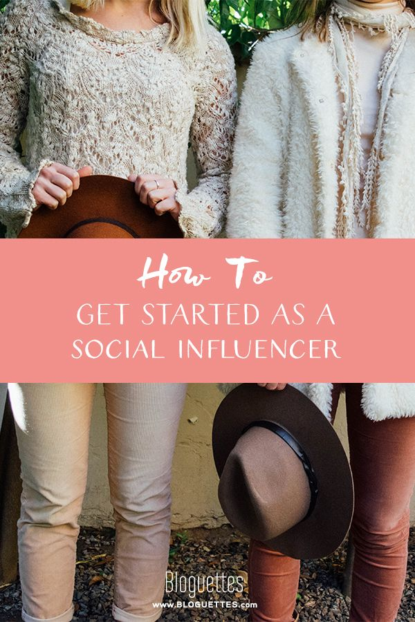 Get on the fast track towards becoming a social influencer.