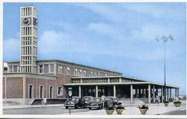 Oude Station van Leiden
