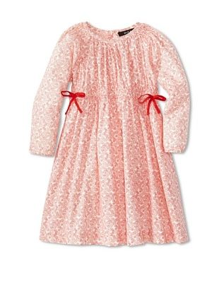 50% OFF Gil & Jas Girl's Printed Dress (Poppy)