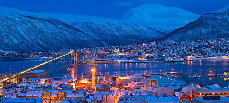Norway in Winter Town in Darkness | … about Tromsø – Official Travel Guide to…