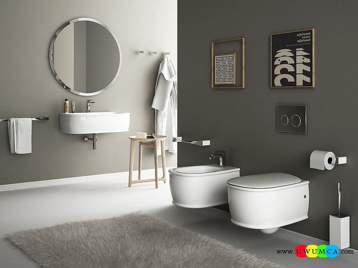 40 Best Wall Hung Sanitary Solutions For The Small Space Conscious Bathroom Images On Pinterest