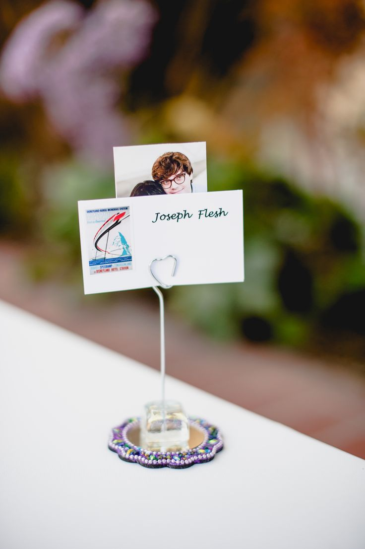 Disneyland photos disneyland paris bride groom table grooms table - Place Cards Showing Which Ride Themed Table You Were Assigned Find This Pin And More On Diy Disneyland Wedding
