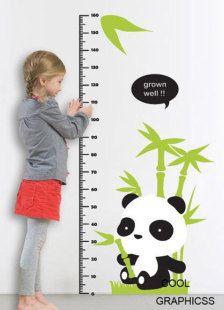 Panda growth chart from etsy