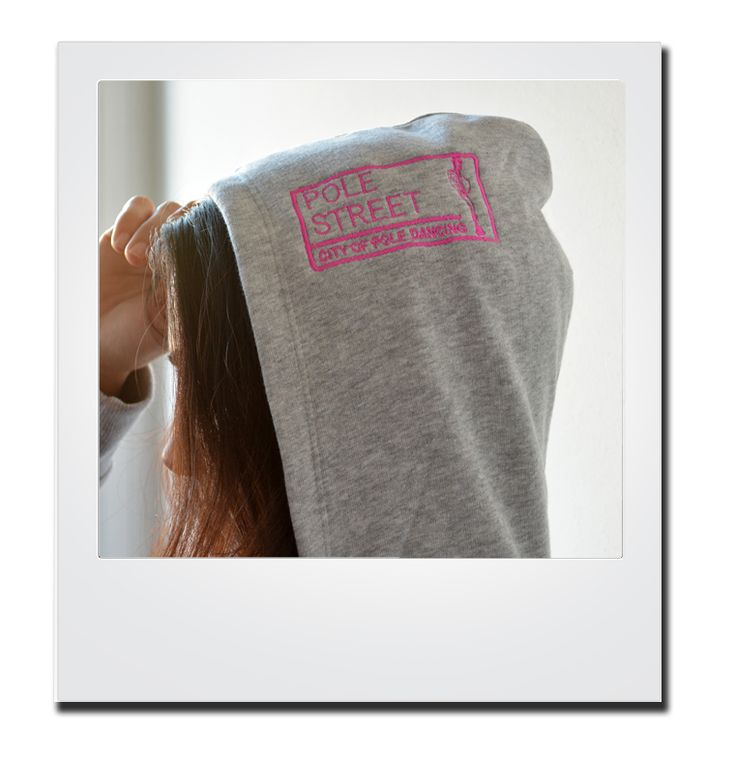 and in grey..shop now at http://polestreet.com/products/ballerina-style-hoodie