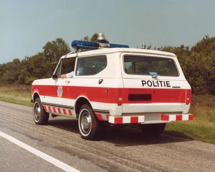 Scout 4X4 Demo voertuig. 1979 Foto: J. Hoogendoorn
