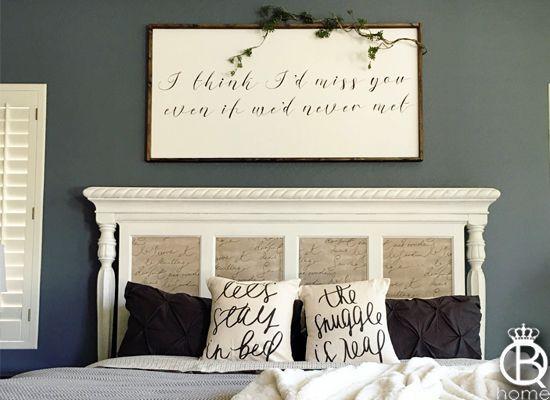I Think I'd Miss You Even If We Hadn't Met Framed Wood Sign