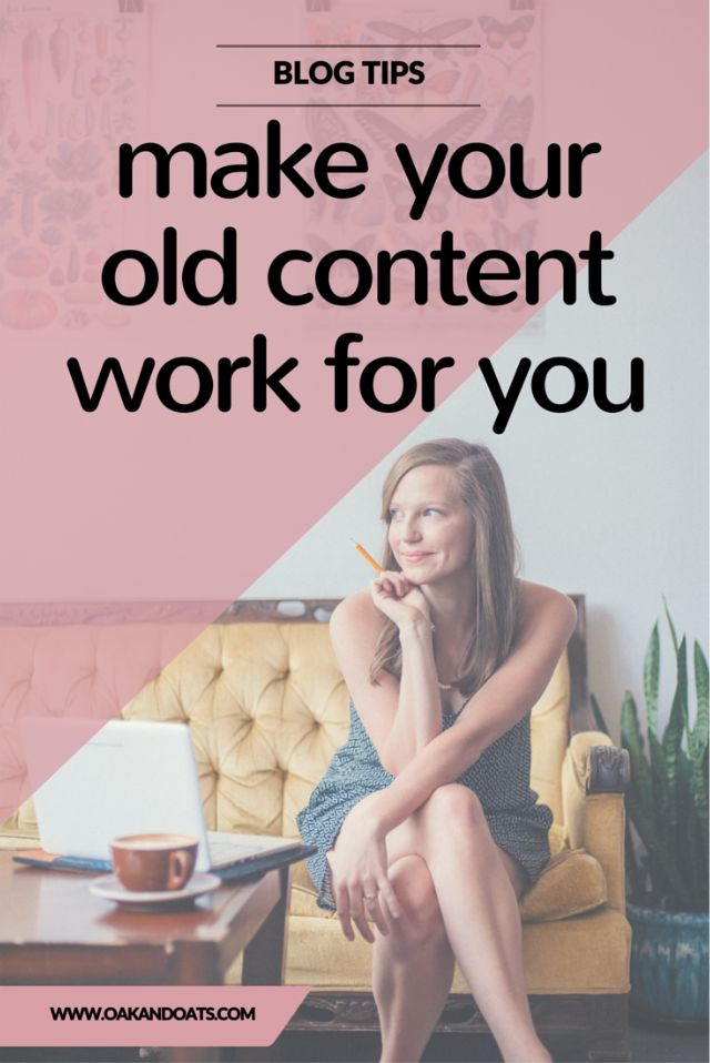 Great tips for reviving your old Blog Content and making it work for you! 5 things you can do now to make a big difference!
