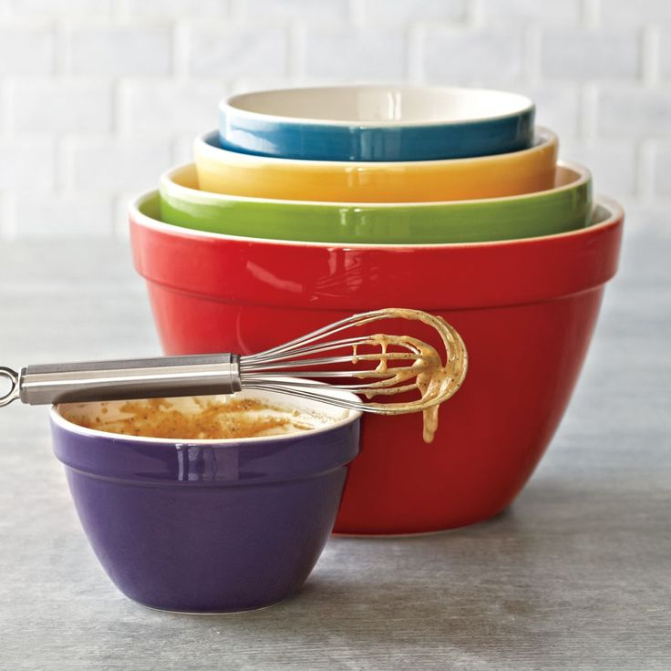 17 best images about bakeware mixing bowls pyrex for Sur la table mixing bowls
