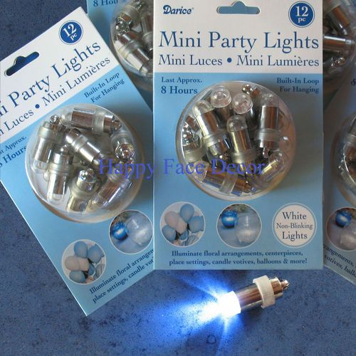 24 Submersible Waterproof LED Light Paper Lantern Balloon Floral Wedding Party | eBay