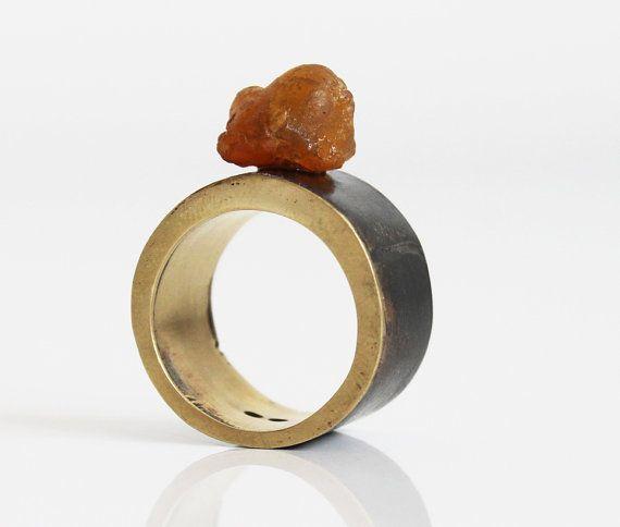 Unique contemporary ring   original handmade by notAjewelry, $113.50