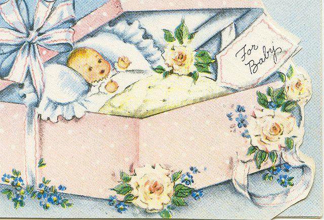 Днем влюбленных, открытка с новорожденным мальчиком на английском