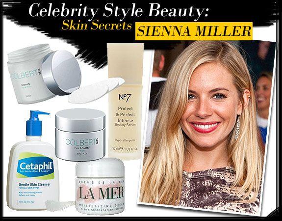 Celebrity Style Beauty: Sienna Miller�s Skin Secrets