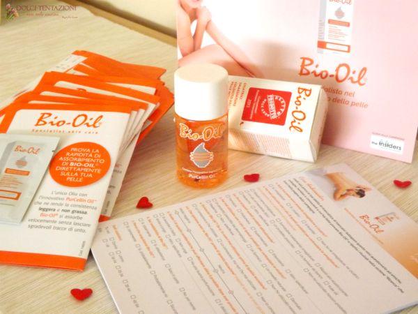 Bio Oil per The Insiders , una nuova campagna lanciata per permettere a molti insiders di provare Bio Oil, un olio specifico per il trattamento della pelle.