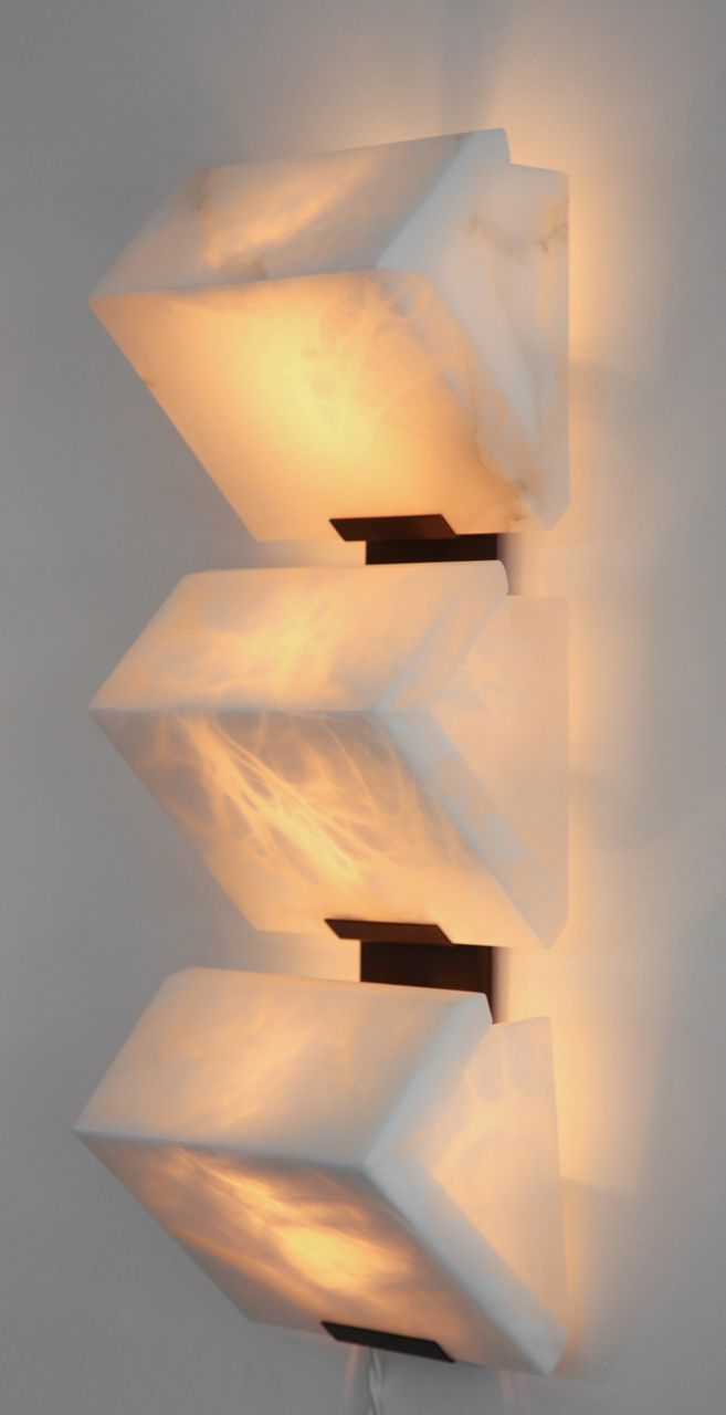 Architectural Pierre Chareau Sconces