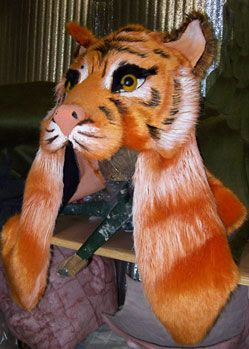 Shere Khan tiger mask created by www.TentacleStudio.com ... - photo#32