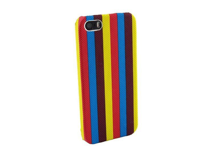 Hardcover Snap Case hoesje iPhone 5 & 5S strepen div. kleuren