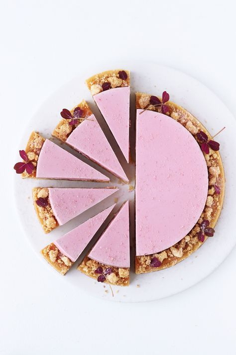 Rhubarb Tart with Frangipane Recipe