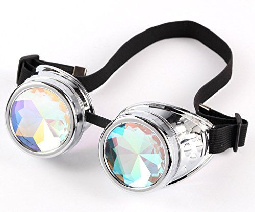 Sexy_Forever Steampunk Colorful SAFETY Goggles Glasses Welding Cyber Punk Gothic Cosplay ** Click on the image for additional details.Note:It is affiliate link to Amazon.
