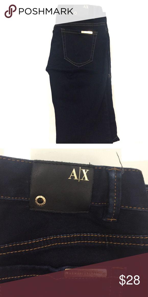 A|X Armani Exchange - Jean Leggings Size 2 98% cotton, 2% spandex. Armani Exchange Jeans Skinny