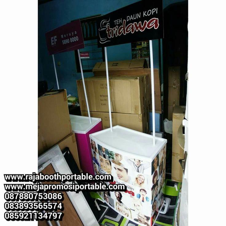Event desk atau meja promosi untuk promosi produk anda