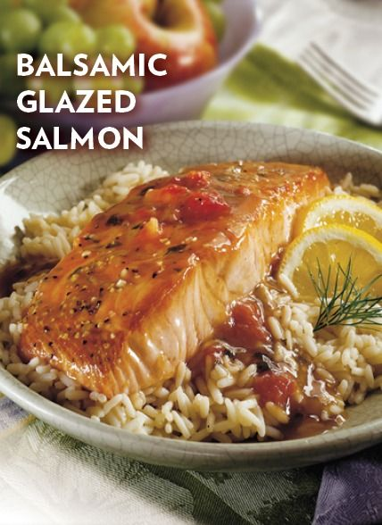 Balsamic Glazed Salmon | Recipe | Salmon recipes, Recipes for and ...