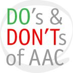 We all know that the best practice for teaching AAC isModelling or Aided Language Stimulation. We can all understand that AAC users will learn how to effectively use their AAC system when they see it used regularly and reliably by others in their world. So how do we model?