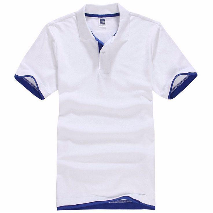 Brand New Men's Polo Shirt Cotton Short Sleeve