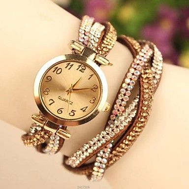 Women's Fashion Leather Japanese Quartz Watch(Assorted Colors) – EUR € 9.11