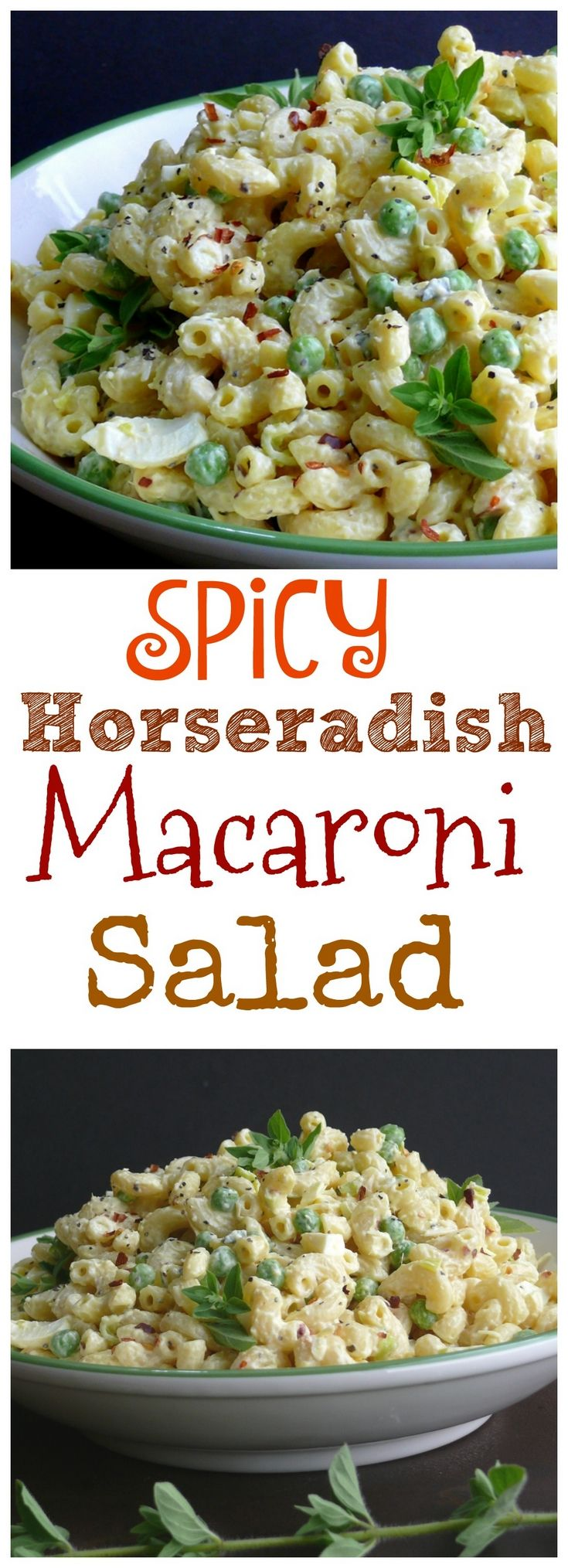 VIDEO + Recipe for this Spicy Horseradish Macaroni…