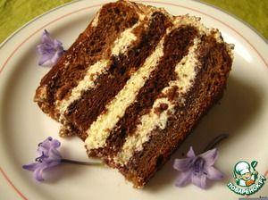 """Торт """"Птичье молоко"""" по-королевски"""