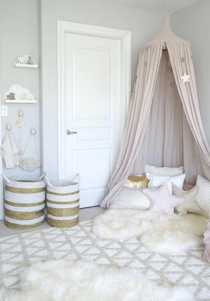 Chambre Or Rose Et Blanc