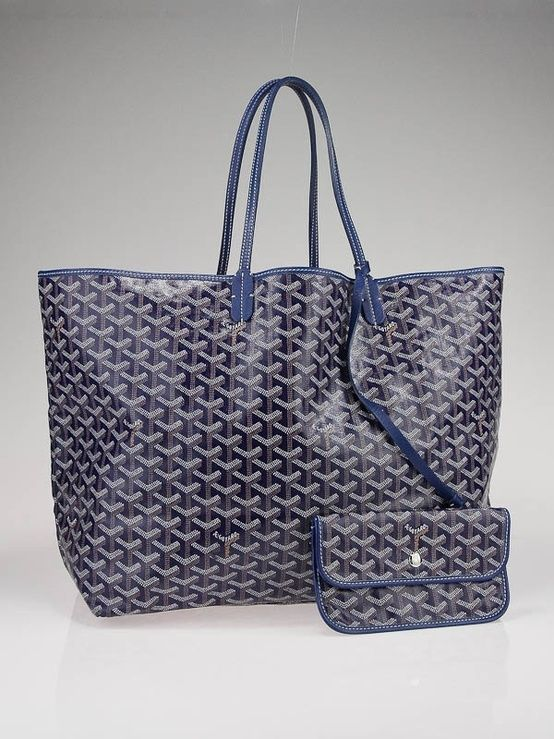 """Goyard tote...What else can I say about this beauty, but """"Ahhh!' Excellent addition to my happy family of fabulous handbags!"""