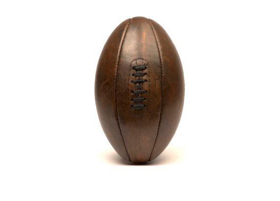 Ballon de rugby 1920-1930