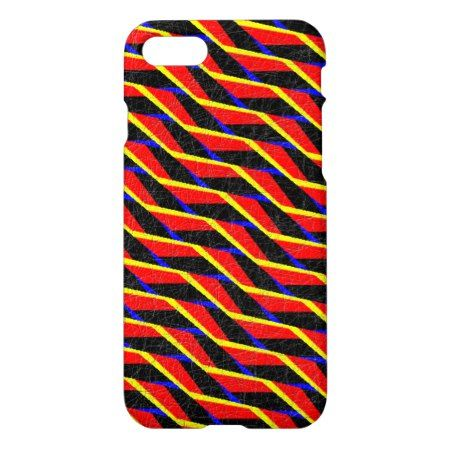 Colorful abstract pattern iPhone 7 case - tap to personalize and get yours