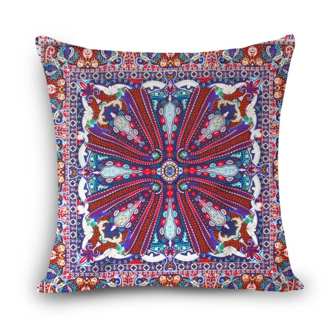 2017 de Alta calidad Grande de seda H almohadas decorativas para el sofá de cojines de algodón de lino hecha En Casa 45X45 cm famoso marca impresa