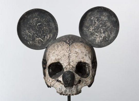 Le crâne de Mickey - La boite verte