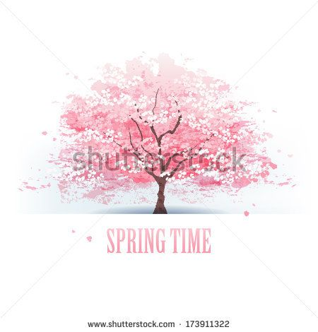 33 best images about Cherry Blossom Mural Inspiration on Pinterest | Cherry blossom tree, Cherry