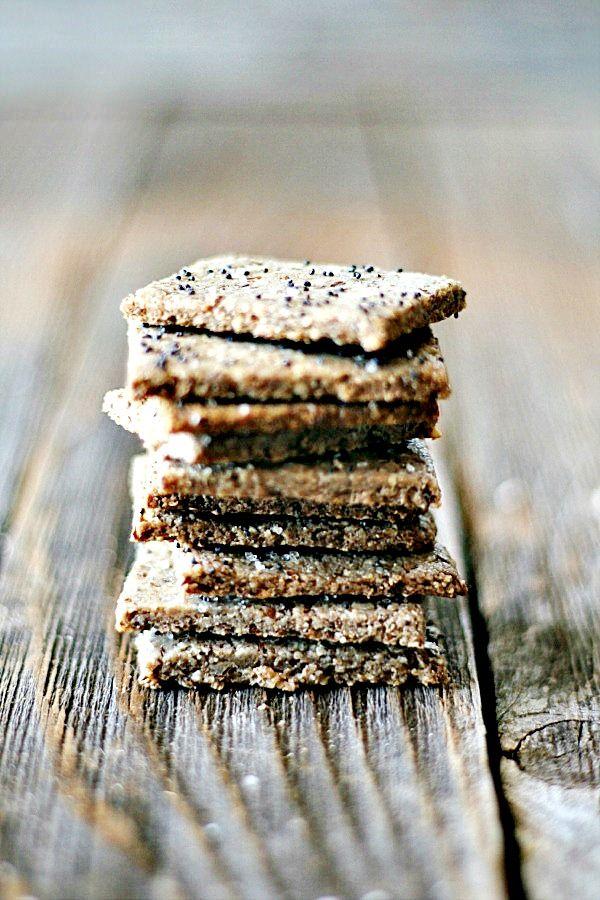 ... , gluten free nut crackers   heathersfrenchpress.com #snackhappy