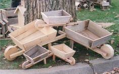 Wooden Wheelbarrows - 3 sizes