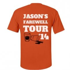 Custom Bachelor Party T-Shirts for the Boys - Vrijgezellenfeest shirt voor mannen