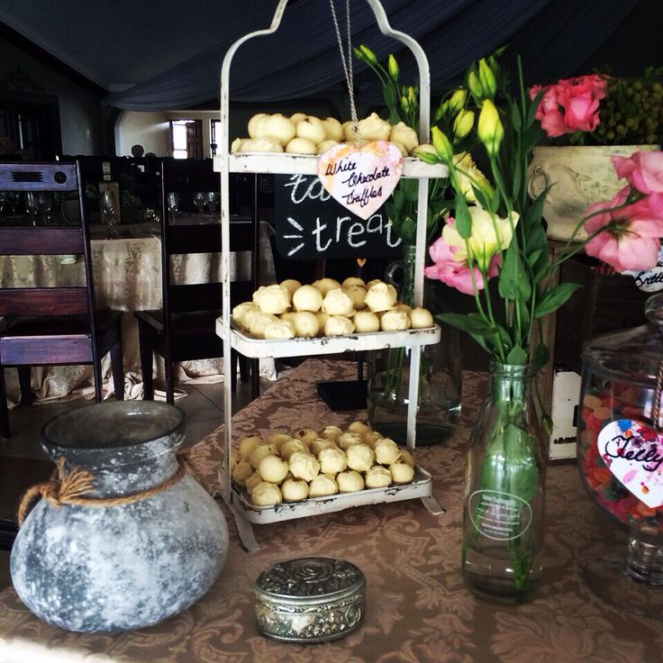 Lovely truffle stand by Karamella Candy