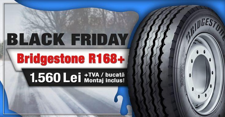 Prinde ultimele zile de reducere la anvelopele Bridgestone R168+!  Vezi oferta aici!  #blackfriday #fomcotruckservice #fomcotyres