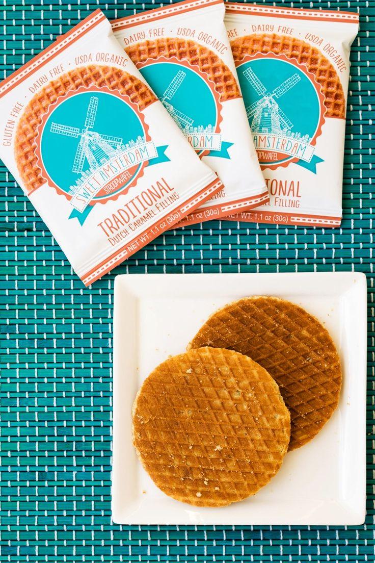 sweet amsterdam stroopwafels review free of dairy  gluten  dairyfree food products