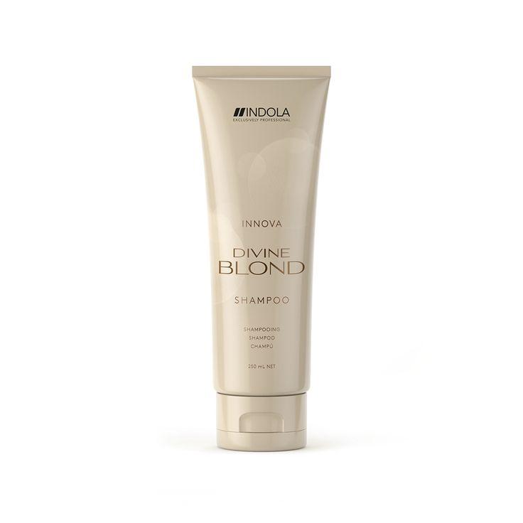 Indola Innova Devine Blond Shampoo 250ml.