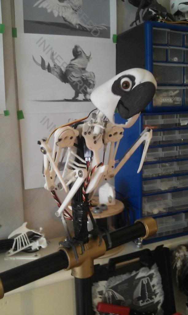 Animatronic Birds... | DIY Animatronics