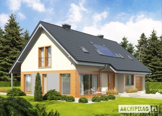 #Projekty domów  #ARCHIPELAG - Amber G1