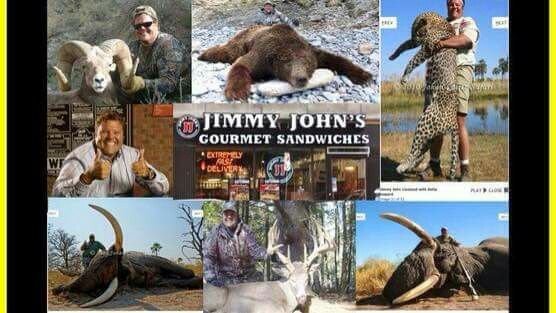 What Jimmy Johns owner does spread the word..